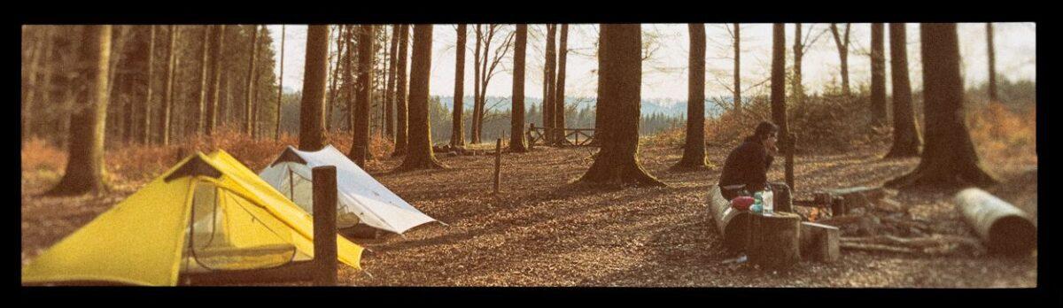 Bivak in de Ardennen